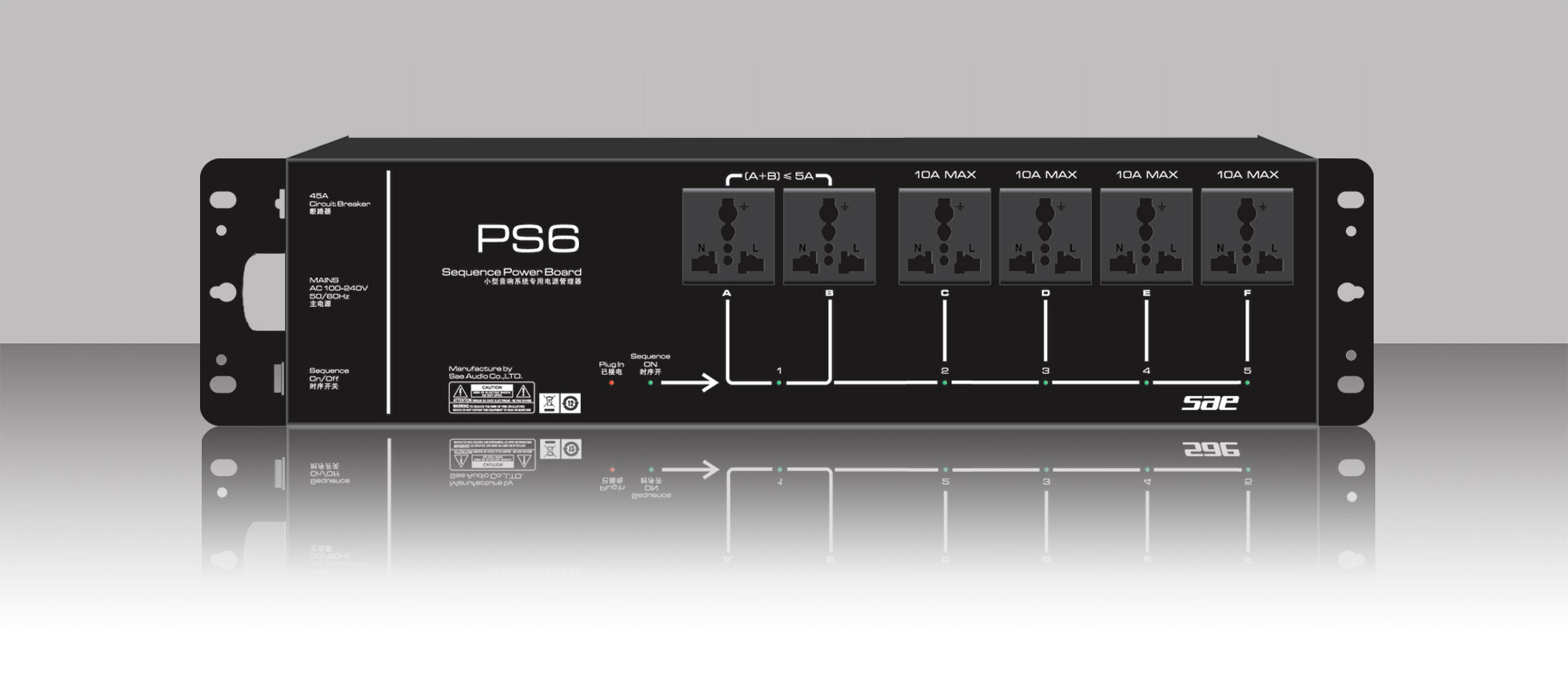 Ps F on Ma Audio Amplifier